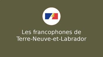Les francophones de Terre-Neuve-et-Labrador