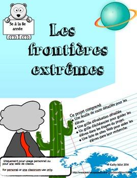 Les frontières extrêmes - Extreme Environments - Sciences Naturelles