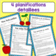 Groupes alimentaires- fruits- planifications- Food Groups- Fruits French