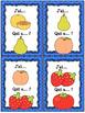 """Les fruits et légumes - Ensemble 2 jeux """"j'ai... qui a...?"""""""