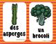 Les fruits et les légumes - Affiches