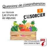 Les fruits et les légumes - Compréhension