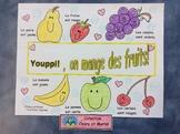 Les fruits et les légumes - Sorting Activity/ Placemat - Distance Learning