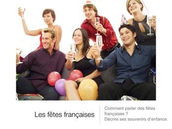 Les fêtes et traditions françaises - Présentation power point