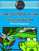 Module sur les habitats et les communautés (French Habitat
