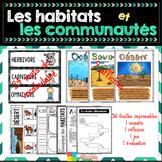 Les habitats et les communautés - Sciences 4e année