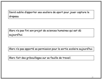 Les habitudes de travail, French Immersion (#64)