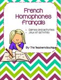 French Homophones français