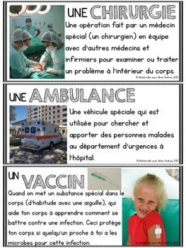 Les hôpitaux - une ressource de non-fiction (FRENCH all about hospitals NF)