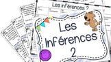 Les inférences 2 - cartes à tâches
