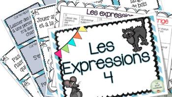 Les expressions 4 - Cartes à tâches !