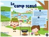 Les inférences - Au camp scout