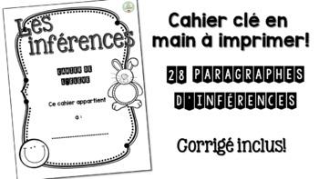 Les inférences - Cahier reproductible !