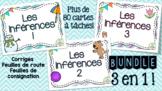 Les inférences - Cartes à tâches - Bundle !