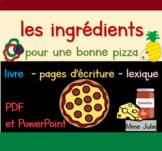 Les ingrédients pour une bonne pizza