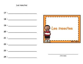 Code ABC - Les insectes
