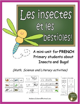 Les insectes et les bestioles (FRENCH Bugs & Insects - Mat