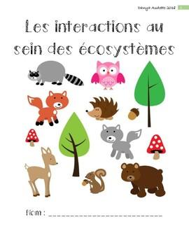 Les interactions au sein des écosystèmes