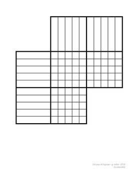 Les jeux de logique - 2e ensemble