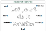 Les jours de la semaine - Days of the week in French !