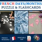 Les jours et les mois : The days and months - Practice Puz
