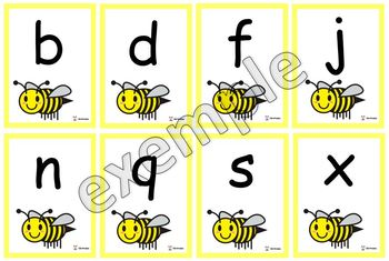 Les lettres de l'abeille