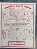 Les lettres de l'alphabet- FRENCH Letters of the Alphabet