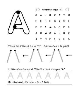 Les lettres majuscules [SNEAK PEAK A-D]