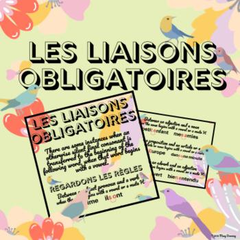 FRENCH - Guide de phonétique - les liaisons obligatoires
