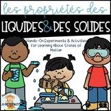 Les liquides et les solides
