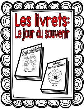 Les livrets: Le jour du souvenir (Remembrance Day booklets)