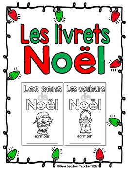 Les livrets - Noël (Fold and staple French Christmas booklets)