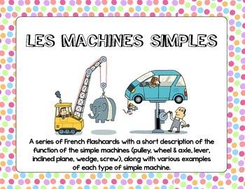 Les machines simples - Simple Machines Flashcards