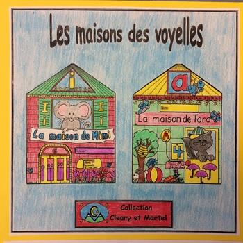 Les maisons des voyelles- FRENCH Phonic Student Work Booklets- grade 1