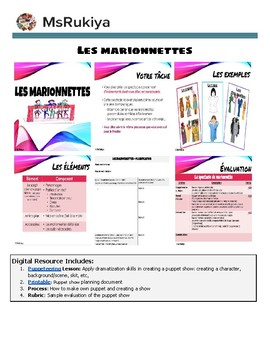 Les marionnettes - Puppeteering