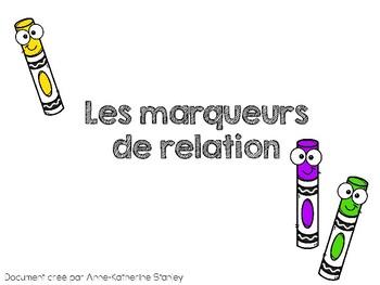 Les marqueurs de relation