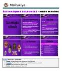 Les masques culturels - Mask making