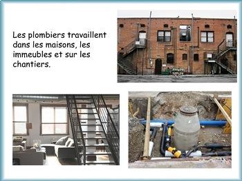 Un documentaire sur les métiers de la communauté: Le plombier et la plombière