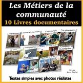 Les Métiers de la communauté: 10 livres documentaires (distance learning)