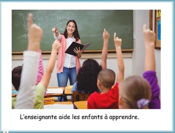 Les métiers de la communauté - l'enseignant (e)