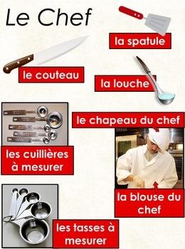 Les métiers de la communauté - le chef cuisinier