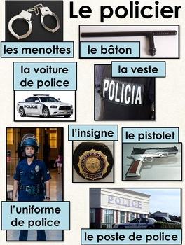 Les métiers de la communauté - le policier et la policière