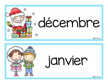 Les mois de l'année (Months Of The Year)