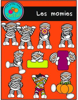 Les momies: ensemble de Clipart