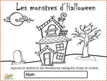 Les monstres d'Halloween