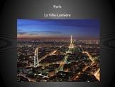 French- Les monuments de Paris (The monuments of Paris) Presentation