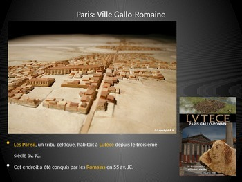 French- Les monuments de Paris (The monuments of Paris) Presentation