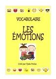 Les émotions - vocabulaire (activités, exercices, jeux, fl