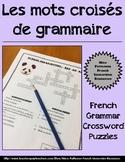 Les mots croisés de grammaire - French Grammar Word Searches