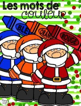 Les couleurs  {Santas}